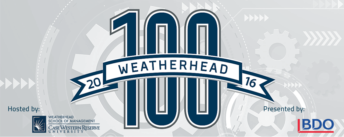 Weatherhead 100 Awards application now open!