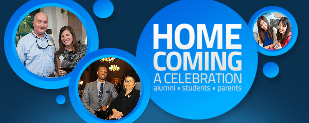 Join us for Homecoming Weekend, October 15- 18