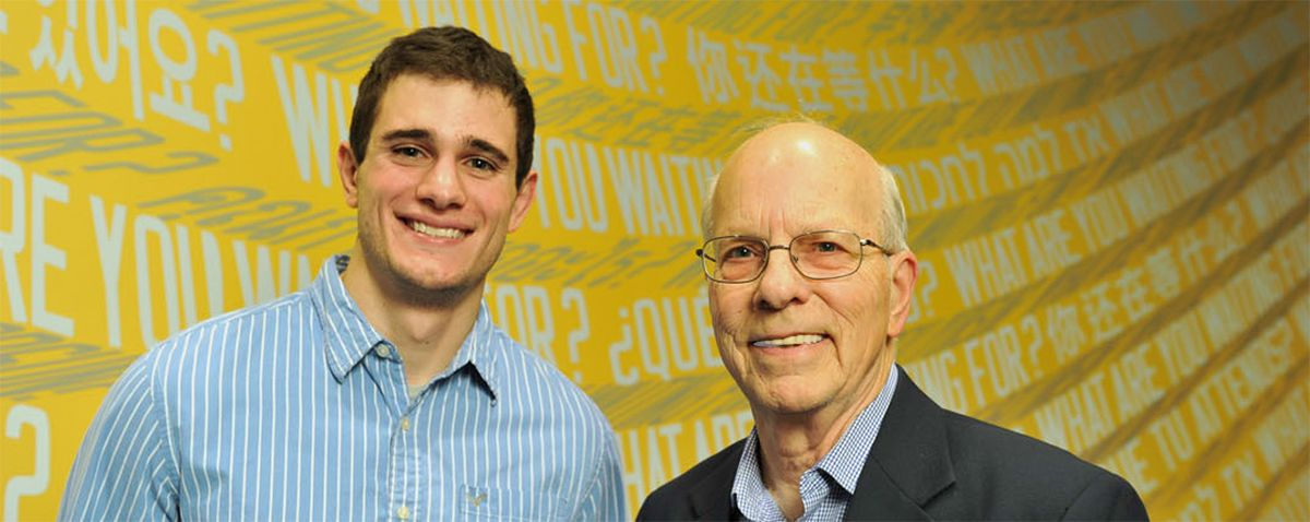 Mentor and MBA alum Larry Goldrick establishes MSM-OR/SCM scholarship