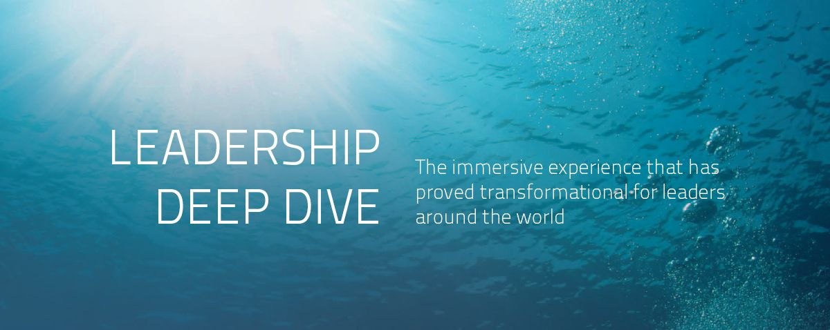Join the next Leadership Deep Dive class!