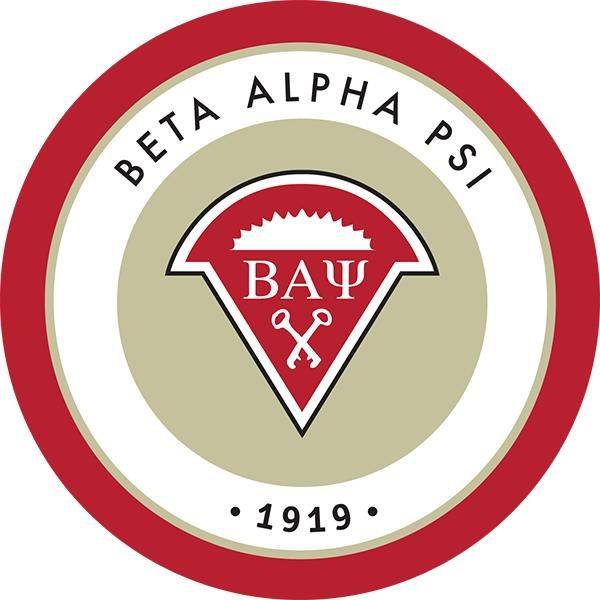 Beta Alpha Psi crest