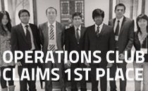 Operations Club Wins Regional Case Competition