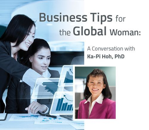 Business Tips for the Global Woman